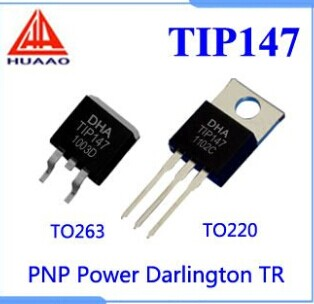 TIP142 TIP147 NPN PNP Power Darlington Transistor IC - TIP142 TIP147
