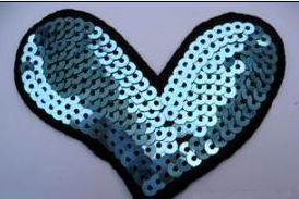 Sequins embroidery