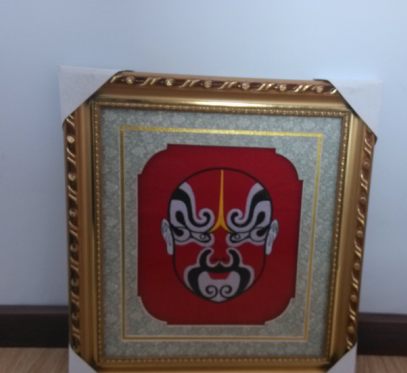 Beijing Opera Facial Masks Embroidery products