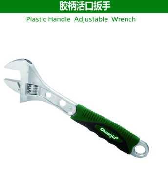 Plastic Handle Adjustable Wrench
