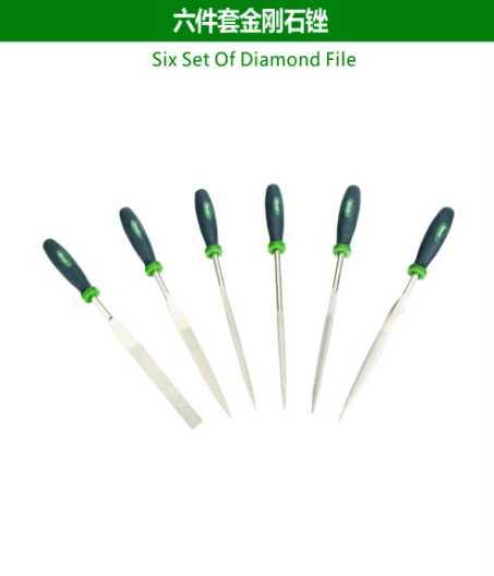 Six Set Of Diamond File
