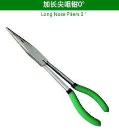 Long Nose Pliers 0°
