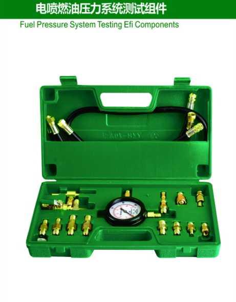 Fuel Pressure System Testing Efi Components
