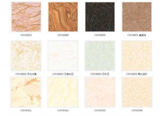 High quality double loading polished porcelain floor tiles
