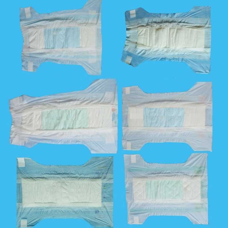baby diaper manufacturers in china oem plastic backed baby diapers low price