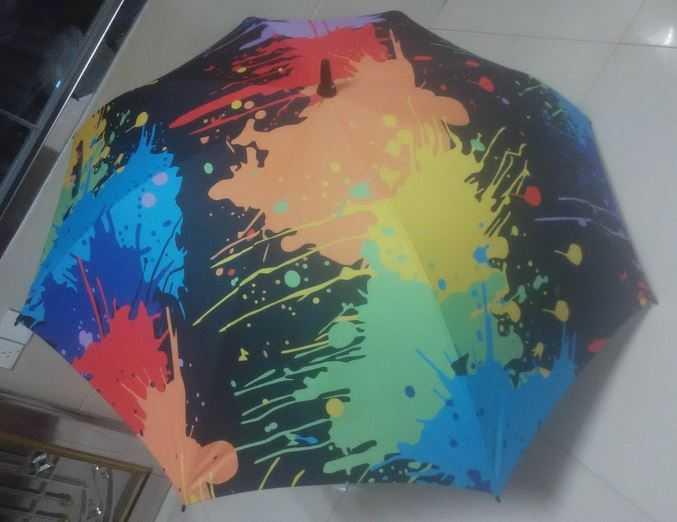 lexus multi-color golf umbrella