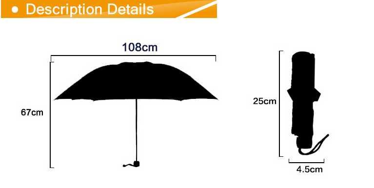 Wholesale cheap 3 fold umbrella,Silver coating fabric