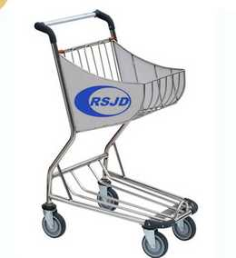 Airside duty-free airport trolley for shopping