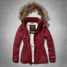 ALIKE woman jacket winter jacket with fake fur