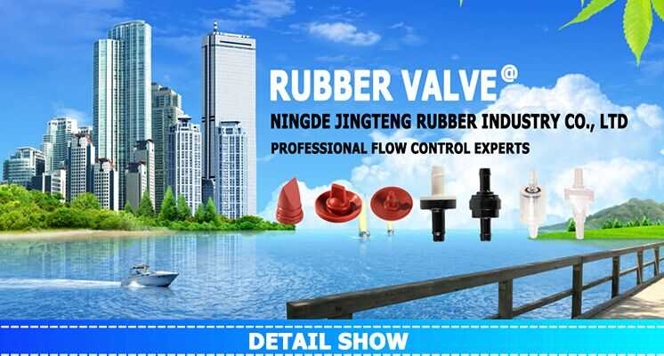 Micro rubber air valve, low pressure air release valve