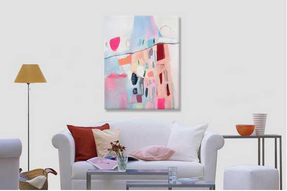 2016 topsale custom frameless oil paintings for sale online