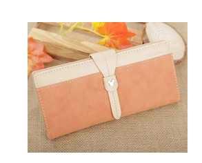 High quality stylish girl wallets