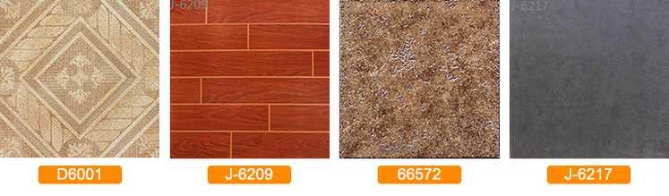 600x600mm Acid-resistant Silkscreen Ceramic Tiles Bedroom Tile