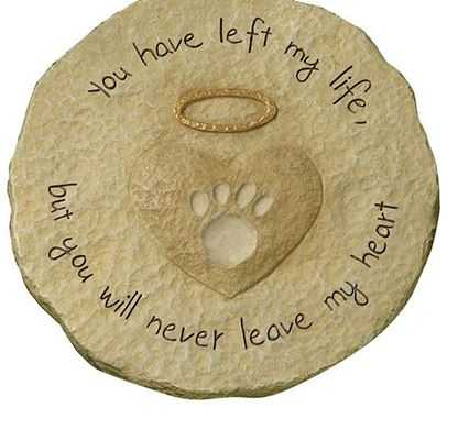 New Products Resin Pet Paw Memorial Plaques