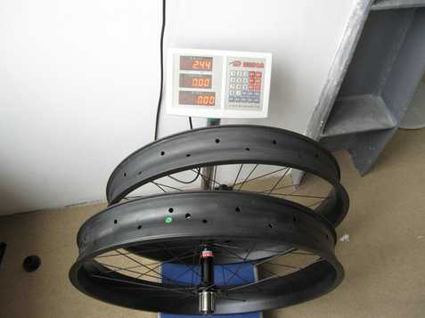 2015 fat tire carbon bike wheelset 26er carbon wheelset for 26er fat/snow bike