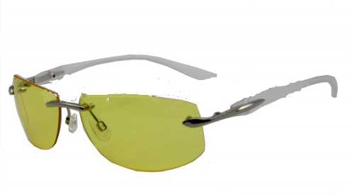 Fashion Designer Night Work Sunglasses With Mteal Frame