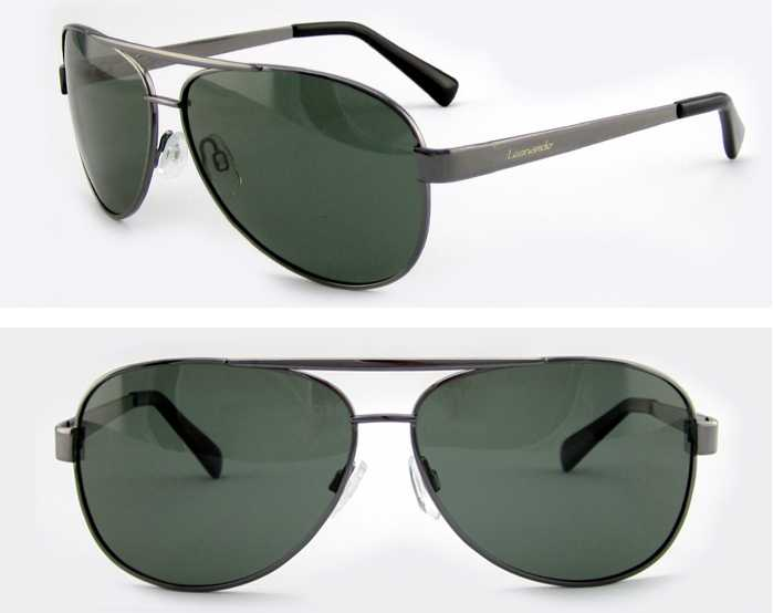 2015 custom logo sunglasses with metal frame