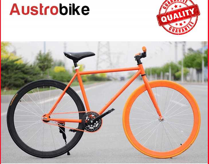700c flipflop with 80mm rim fixed gear bike red black yellow 70 mm 30 mm