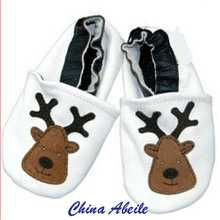 2015 new soft good quality leather infant shoes