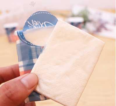 high quality mini Pocket tissue making machine