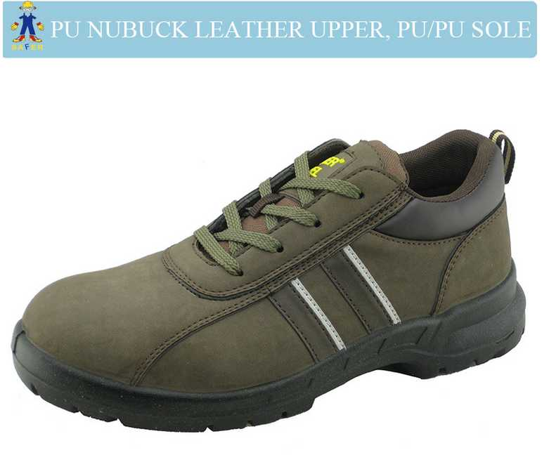 PU upper PU sole cheap safety shoes for work men