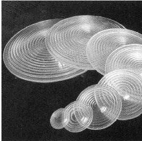 Glass dome lens