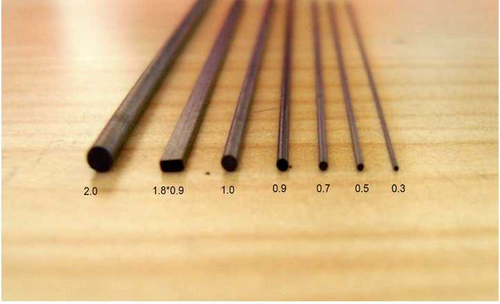 0.5mm 60mm HB Hi-polymer mechanical lead pencil