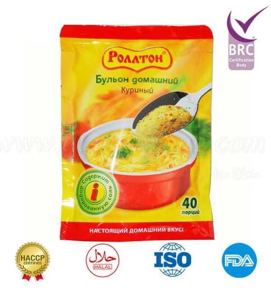 Instant soup seasoning