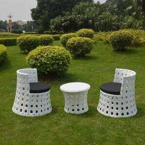 Outdoor PE Rattan Chairs Set