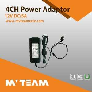 MVTEAM 1-in and 4-out CCTV Power Adaptor(MVT-DY04)