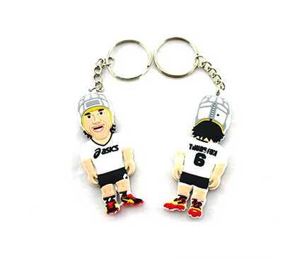 KR014 plastic key chain