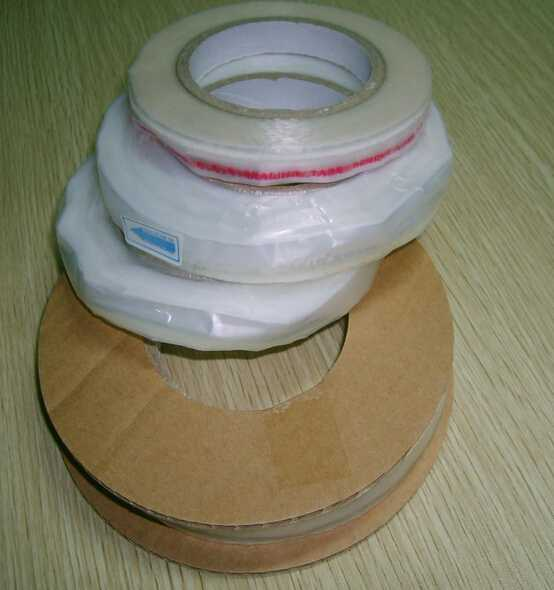 HDPE seal king bag sealing tape factory 4/6*13mm*1000m,20rolls/carton