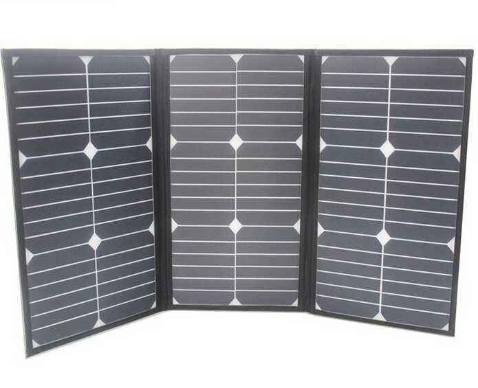 60W outdoor emergency power supply sunpower portable folding solar panel energy bag