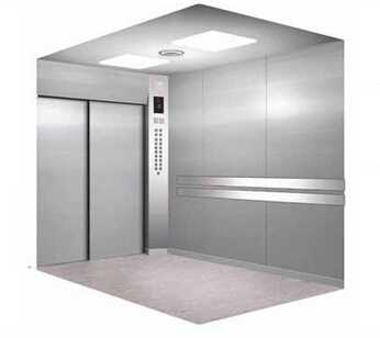 Passenger Hospital Elevator with Hairline Stainless Steel
