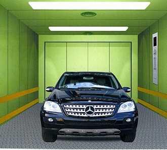 Parking System Type Car Elevator
