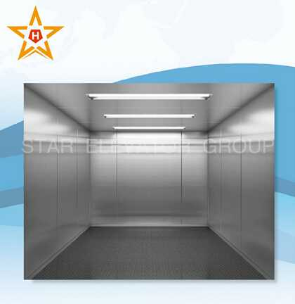 Cargo lift cargo elevator with different decoration