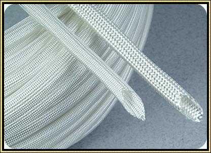 Heat Treat Fiberglass Sleeving