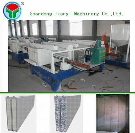Insulated interior wall panel of sandwich panel price for construction machinery part