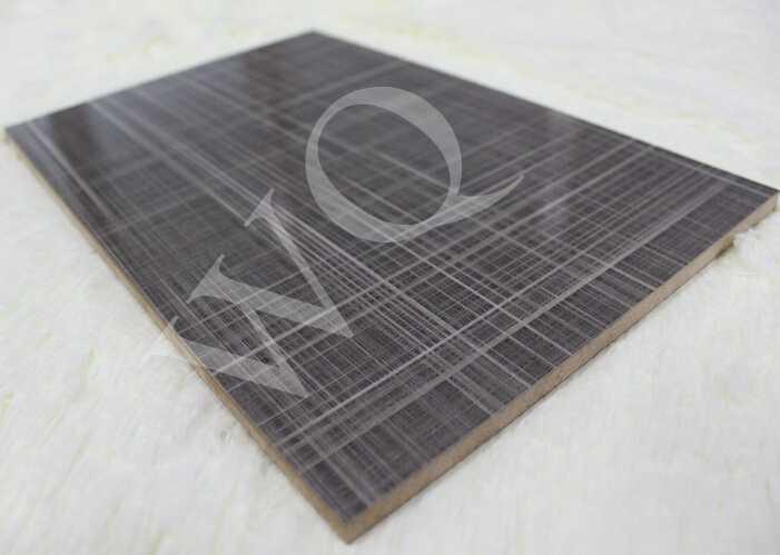 Wood Grain Color UV MDF Panels for Kitchen Cabinets