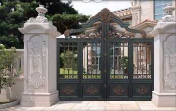 commercial Auto folding /swing garage /house gate