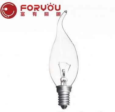 E14 25W New arrival warm White brighten household 1.5 volt light bulbs