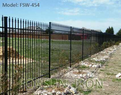 cheap wrought iron fence with high quality