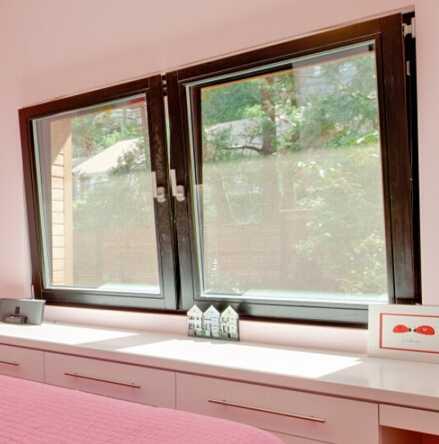 Australia AS2047 standard thermal break double glass aluminum Tilt and Turn Window