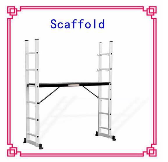 Aluminum Material and Industrial Ladders Type folding scaffolding