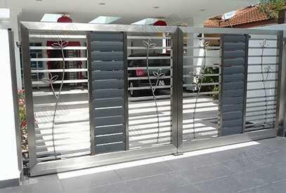 house main gate designs / steel gate design home