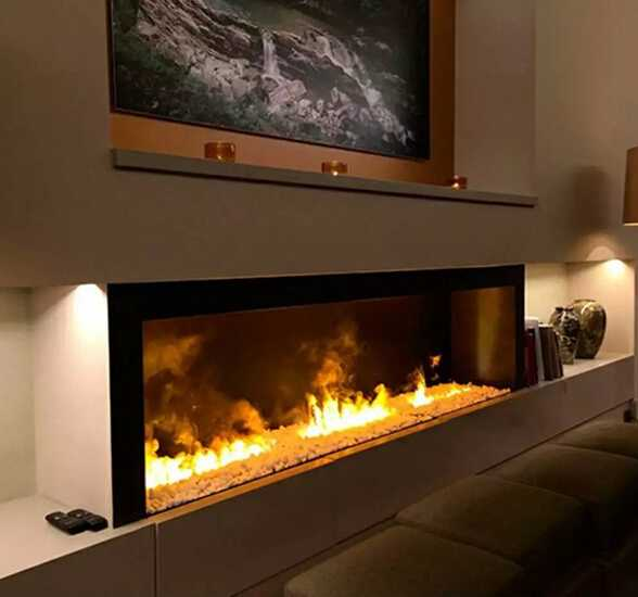 3d water heating electric fireplace 2015 New product recommendation