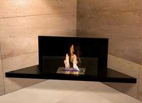 ethanol wall mounted fireplace with high quality