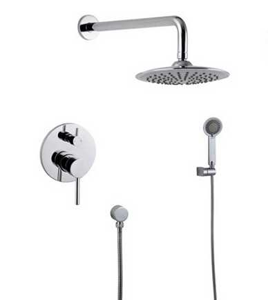 new design wall mounted shower set with Shower Head and Hand Shower