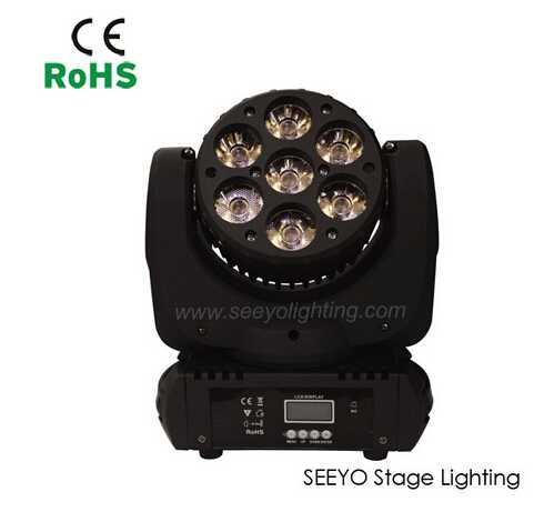7*10W LED Moving Head Light SEEYO