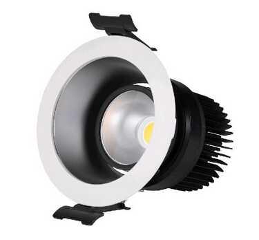 35W 40W 45W LED down lights 5 inch COB LED down light IP44 washing room down light